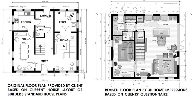 Floor Plan Revision