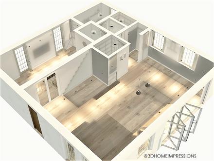 3D view of revised floorplan (BASIC)