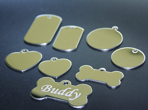 Assorted Stainless Steel ID Tags