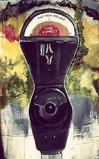 Time expires-Acrylic on cardboard.jpg