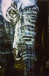 Tusk-Acrylic on wood.jpg