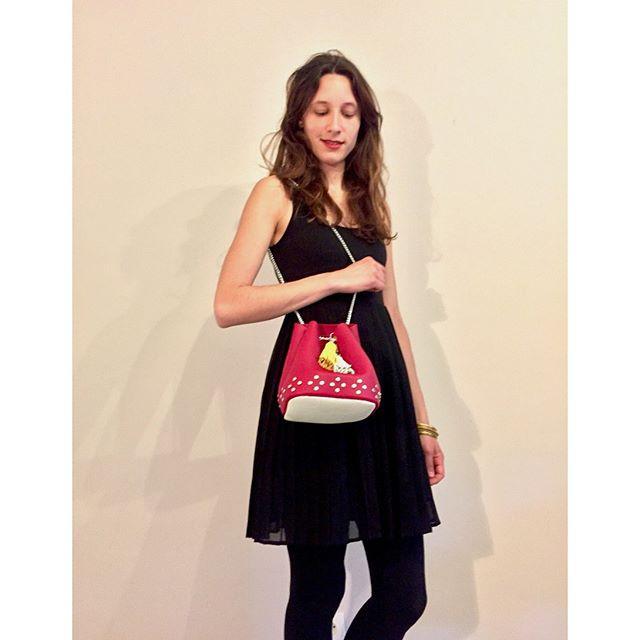 Le beau sac seau de Marie et ses motifs