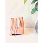 Bucket bag made by Takeuchi _tomo_ko_mo