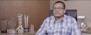 Bapak Gigih Prakoso, General Manager PT. Wahana Cipta Sinatria