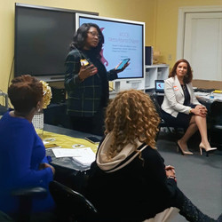 Dr. Sarah Speaking to Women