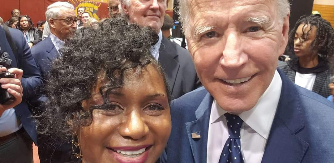 Dr. Sarah and Joe Biden