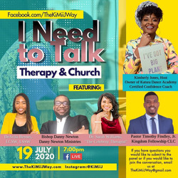 I Need to Talk, Therapy and Church