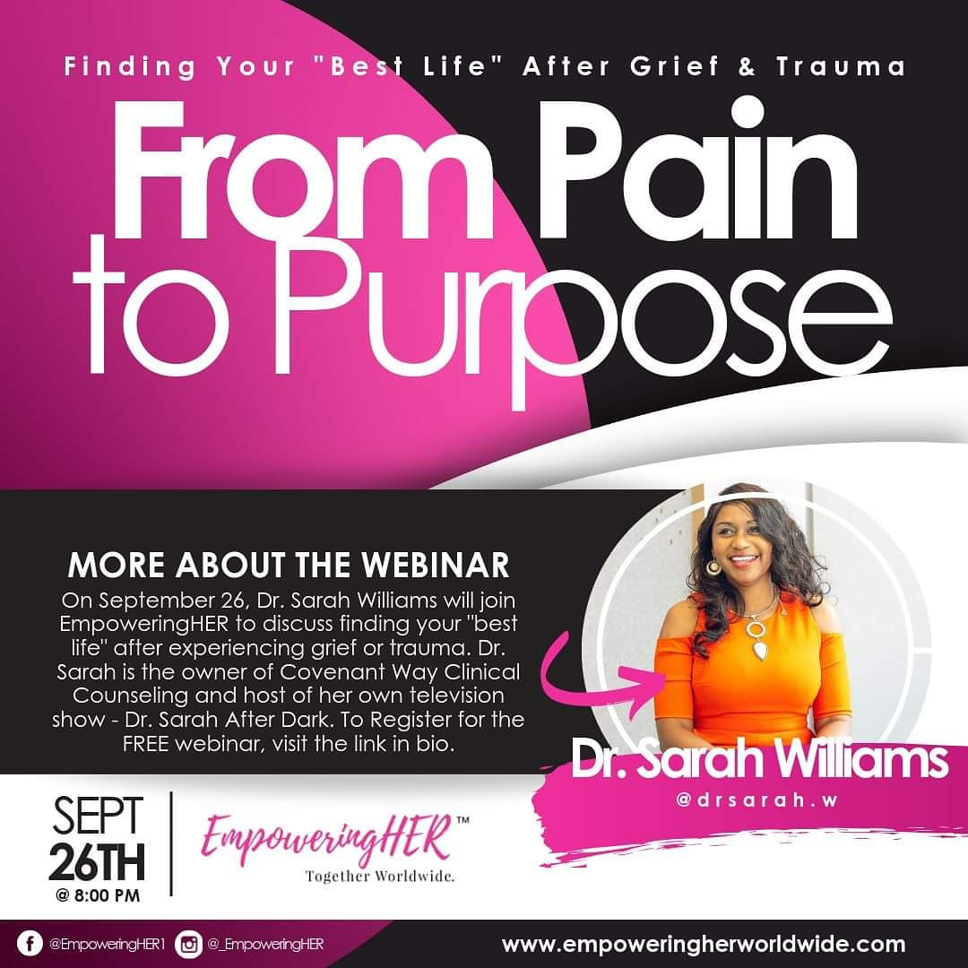 From Pain to Purpose Webinar