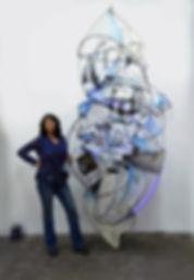 Jill King with Evanston Odyssey.jpg