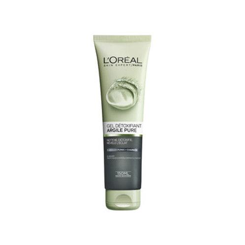 جل منظف لإزالة السموم L'Oréal Paris Gel Détoxifiant Visage Argile Pure 150 ml