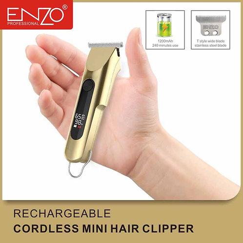 ENZO Rechargable Cordless Mini Hair Clipper