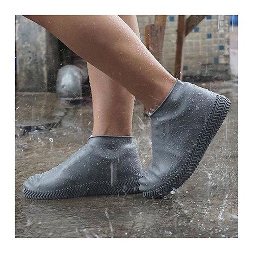 Cover (36-40)أغطية أحذية سيليكون مقاومة للماء قابلة لإعادة الاستخدام وغير قابلة