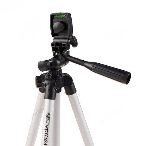 tripod Trépied 3110A Pour Téléphone Et Appareil Photo - Rotation 360° - Noir.