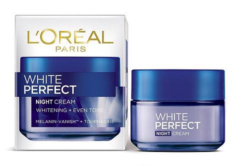 كريم التبييض Loreal White Perfect Fairness Night Cream 50ml