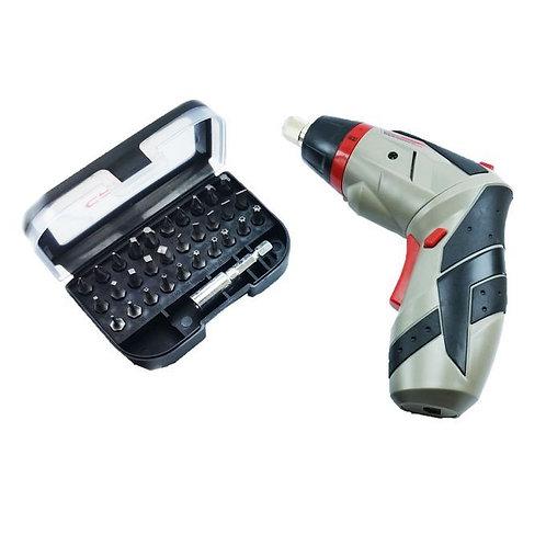 Crown Mini Visseuse A Batterie Lithium 3.6V - Ct22025 - Gris