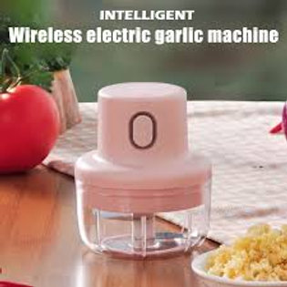 Intelligent electric garlic machine