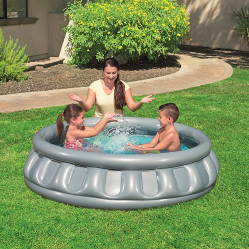 حوض السباحة للأطفال قابل للنفخ على شكل نافورة ممتعة لساعات من المتعة والمرح Pisc