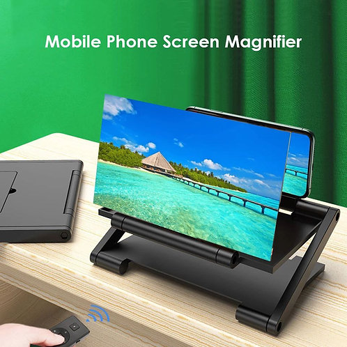 شاشة مكبرة للهواتف الذكية - شاشة عرض مكبرة ثلاثية الأبعاد للهاتف المحمول