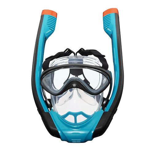 قناع الغوص الإحترافي مع نظارات مدمجة بتصميم مبتكر من الجيل الجديد للأقنعة رؤية و