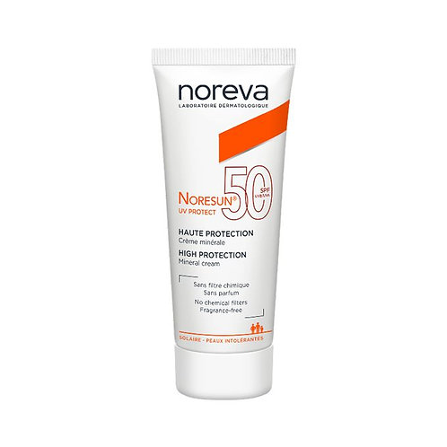 Noreva Noresun Uv Protect Creme Minerale Spf50 Peaux Intolerantes 40ml