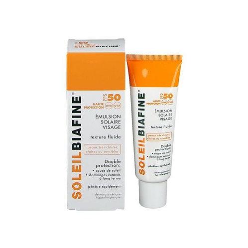 Biafine Soleil Biafine SPF50 Emulsion Solaire Visage 50 ml