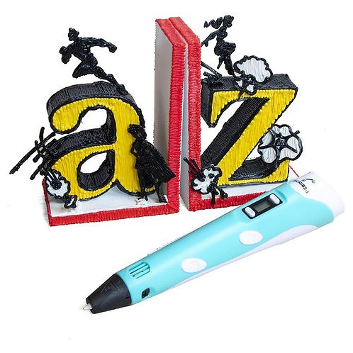 قلم الرسم ثلاثي الأبعاد السحري أطلق العنان لمخيلتك 3D PEN Printing Pen with Disp