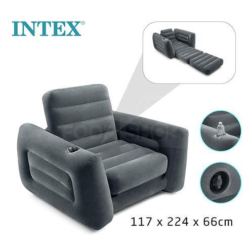 سرير وأريكة 2في1 قابلة للنفخ مضادة للماء وسهلة التحويل لراحة مثالية Canapé 2en1