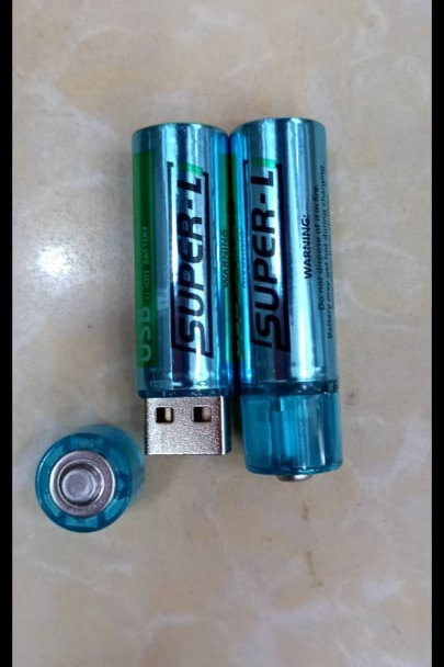 Pile rechargeable USB Super-L
