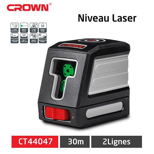 جهاز ضبط المستوى بالليزر أصلي من كراون بعمودين ضبط دقيقين CROWN Niveau Laser 2 L