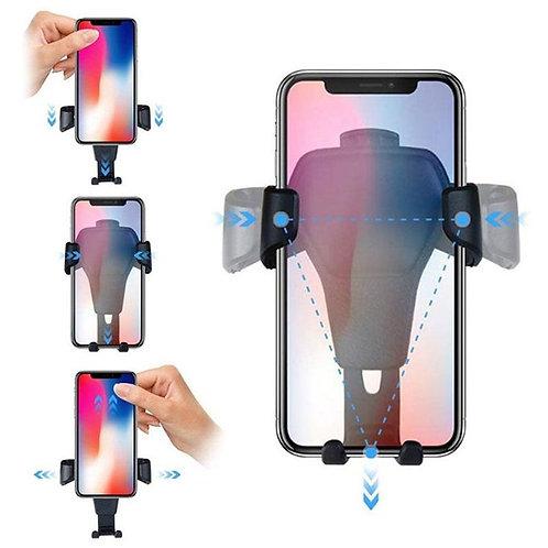 Gravity Support Téléphone Voiture Par Gravité-Noir