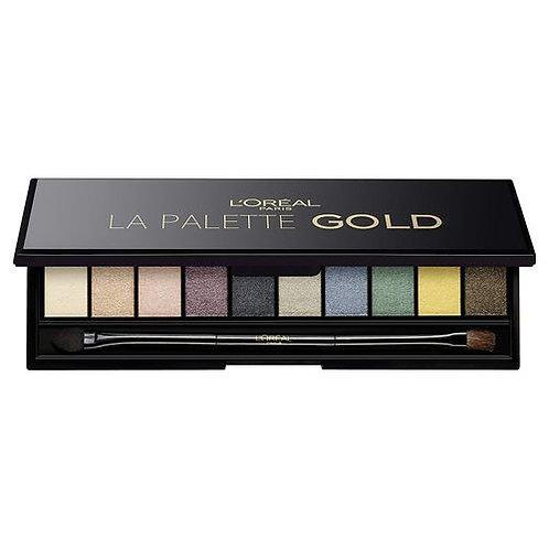 L'Oreal Palette Gold -Color Riche Ombres à Paupières