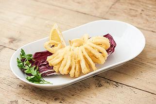 Calamari fritti italian food finsbury park London