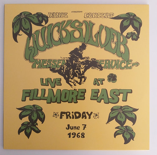Quicksilver Messenger Service - Live at Fillmore East 1968