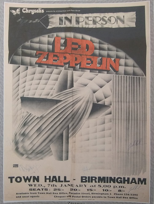 Led Zeppelin at Town Hall