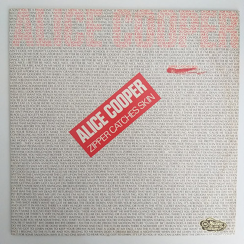 Alice Cooper - Zipper Catches Skin