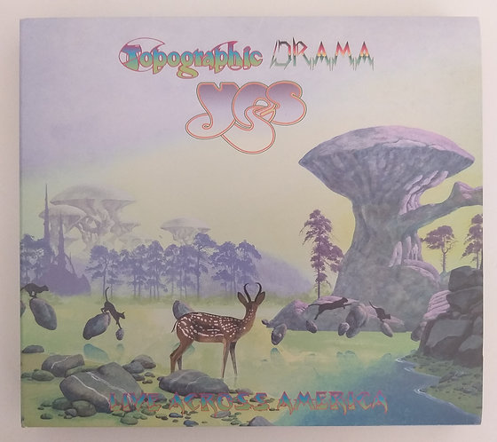 Yes - Tales from Topographic Drama (CD duplo)