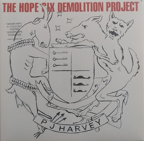 PJ Harvey - The Hope Six Demolition Project + poster