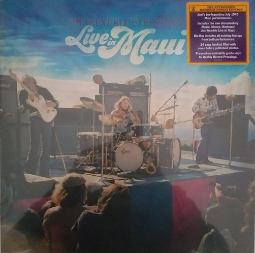 The Jimi Hendrix Experience - Live in Maui (Bos 3 Lps + Blu-Ray)
