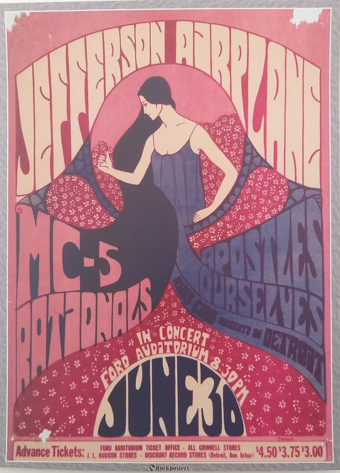 Jefferson Airplane at Ford Auditorium