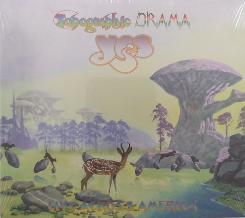 Yes - Topographic Drama (CD duplo)
