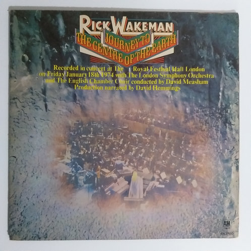 Rick Wakeman - Journey to the Centre of the Earth (vinil)