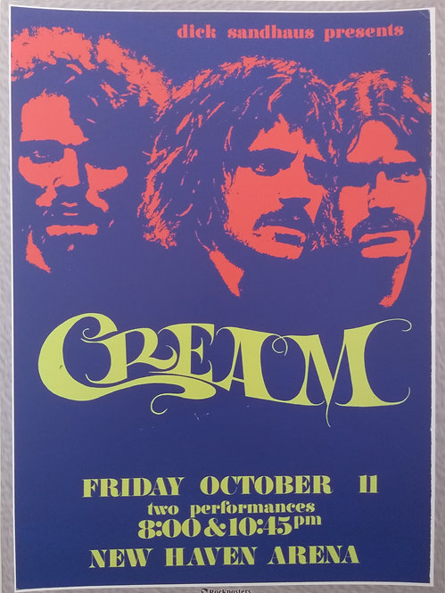 Cream at New Haven Arena
