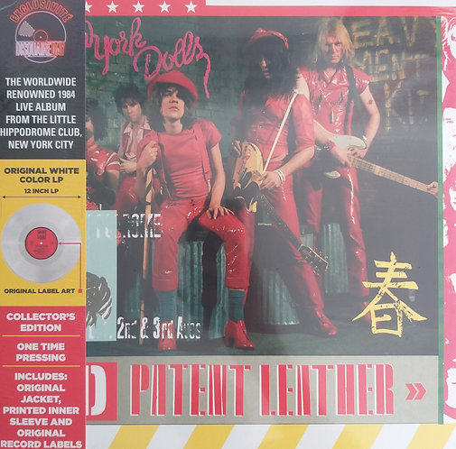 The New York Dolls - Red Patent Leather (vinil branco)