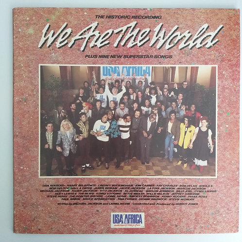 We Are the World - USA Africa (vinil)