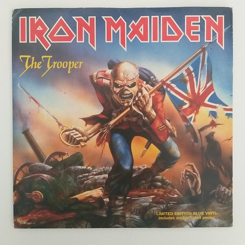 Iron Maiden - The Trooper (vinil azul)