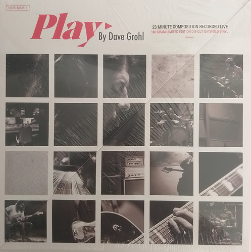 Dave Grohl - Play (capa die-cut)