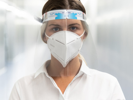 Sanity Cares Face Visors - COVID 19 PPE
