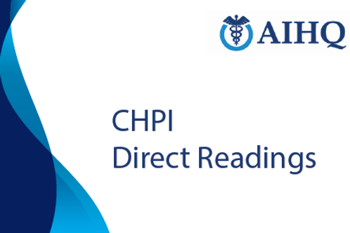 Direct Readings for Certificate in Healthcare Performance Improvement (CHPI)