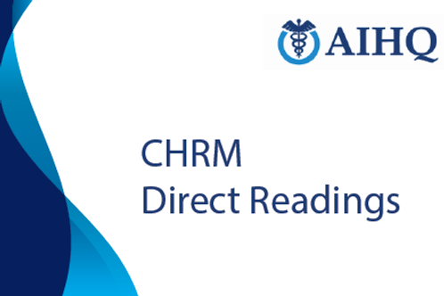 Direct Readings for Certificate in Healthcare Risk Management (CHRM)