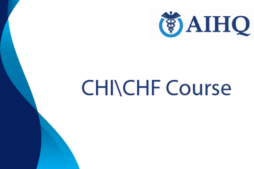 Certificate in Health lnsurance and Finance (CHI\CHF)